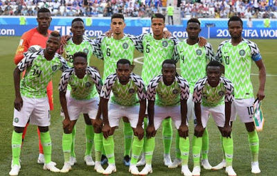 Nigeria drops on FIFA Ranking