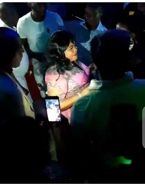 Former First Lady, Mama Peace, Dancing At Her 54th Birthday Party