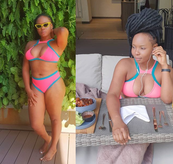 Yemi Alade Flaunts Hot Bikini Body In New Photos