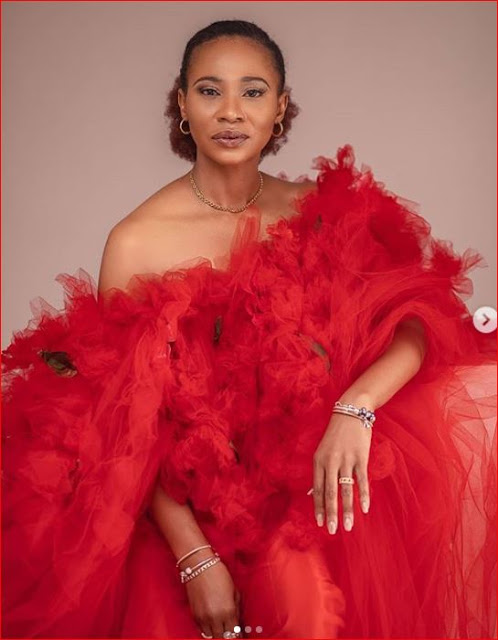 PHOTOS: Nse Etim shares beautiful photos as she turns 45