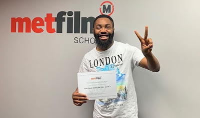 Woli Arole graduates from Met film school in UK