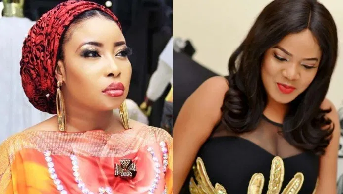 Actress Toyin Abraham sends message to Lizzy Anjorin