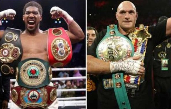 Anthony Joshua lashes out at Tyson Fury
