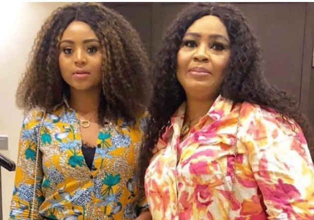 Rita Daniels in tears as her daughter, Regina, unveils new tattoo