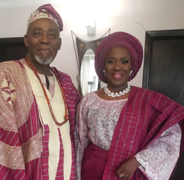 Joke Silva and Olu Jacobs celebrate 35th wedding anniversary