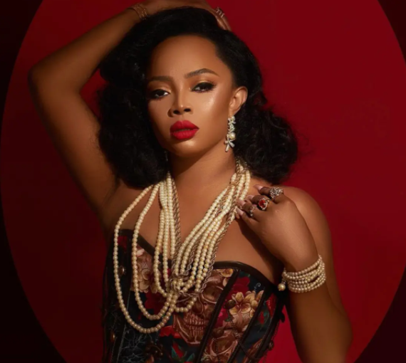Toke Makinwa Reveals she had her first sexual experience at 13